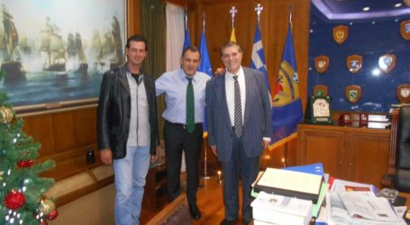 Το Υπουργείο Άμυνας επισκέφθηκαν τα μέλη του Ινστιτούτου Ανάπτυξης Πηλίου