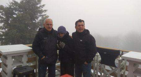Στο Χιονοδρομικό κέντρο Πηλίου ο Χρ. Μπουκώρος