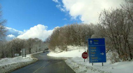 ΤΩΡΑ: Ξεκίνησε η χιονόπτωση στο Πήλιο [απευθείας σύνδεση]
