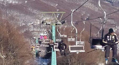 Ανοιχτό και σήμερα το Χιονοδρομικό κέντρο Πηλίου [εικόνες]
