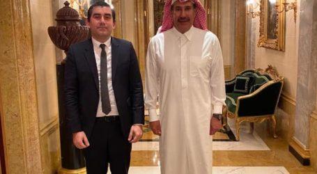 Με τον Σεΐχη του Κατάρ συναντήθηκε ο δήμαρχος Σκιάθου