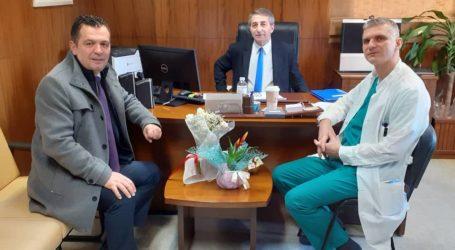 Στον νέο Διοικητή του Νοσοκομείου Βόλου ο Χρήστος Μπουκώρος