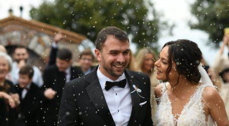 Παντρεύτηκε ο Βολιώτης πρωταθλητής κολύμβησης Σωτήρης Πάστρας