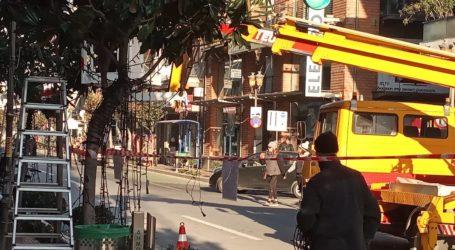 ΤΩΡΑ: Κλειστή η οδός Δημητριάδος [εικόνες]