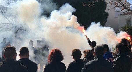 Bόλος: Τελευταίο αντίο στον Βαγγέλη Κωστή – Συγκίνηση στην κηδεία του [εικόνες]