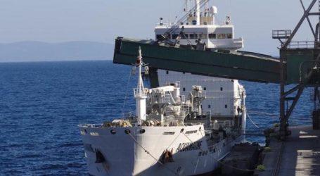 Βόλος: Στο λιμάνι της ΑΓΕΤ έδεσε το πρώτο πλοίο για το 2020