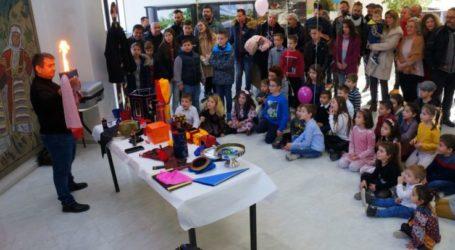 Την καθιερωμένη γιορτή για τα παιδιά διοργάνωσε την παραμονή πρωτοχρονιάς η ΔΕΥΑΛ