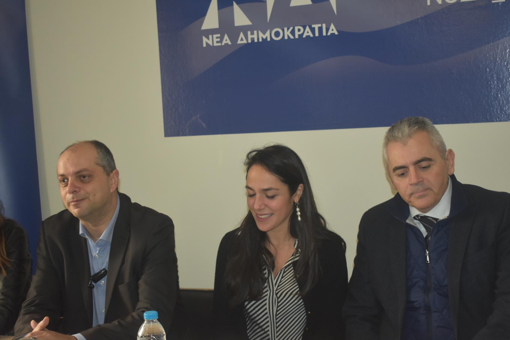 Προνοιακές δομές στη Λάρισα επισκέφθηκε η υφυπουργός Εργασίας Δόμνα Μιχαηλίδου (φωτό - video)