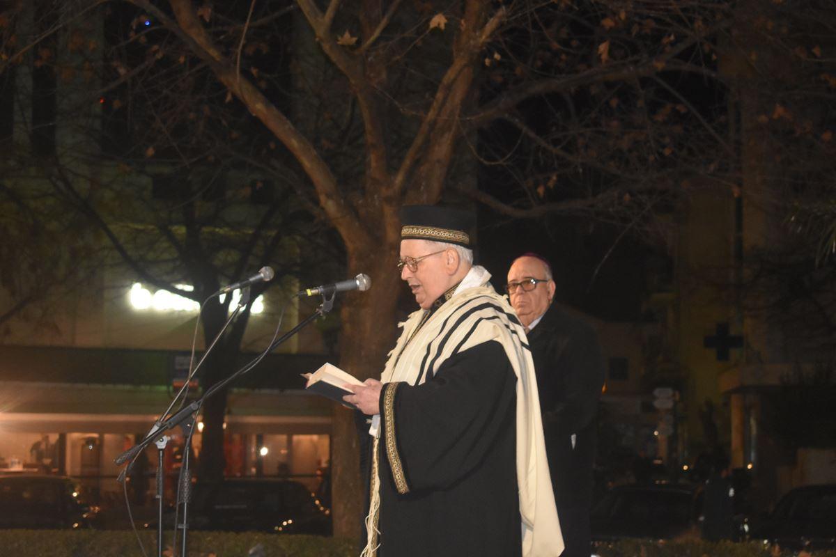 Τη μνήμη των Εβραίων θυμάτων του Ολοκαυτώματος τίμησε η Λάρισα - Δείτε φωτογραφίες