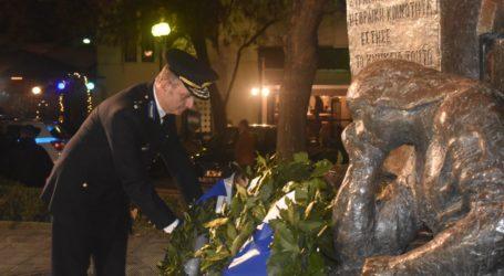 Τη μνήμη των Εβραίων θυμάτων του Ολοκαυτώματος τίμησε η Λάρισα – Δείτε φωτογραφίες