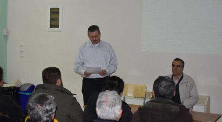 Εκδήλωση για τα ελληνοτουρκικά με ομιλητή τον Ελισαίο Βαγενά διοργάνωσε το ΚΚΕ στη Λάρισα (φωτο)