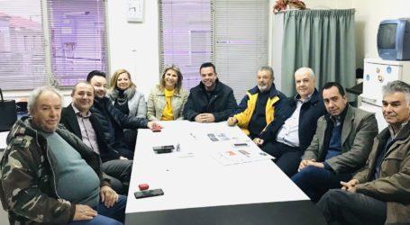 Εποικοδομητική συνάντηση συνεργασίας της Ζέττας Μακρή με το ΔΣ της ΟΕΒΕΜ