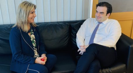 Όλα όσα συζήτησε με τον Υπουργό Ψηφιακής Διακυβέρνησης η Ζέττα Μακρή