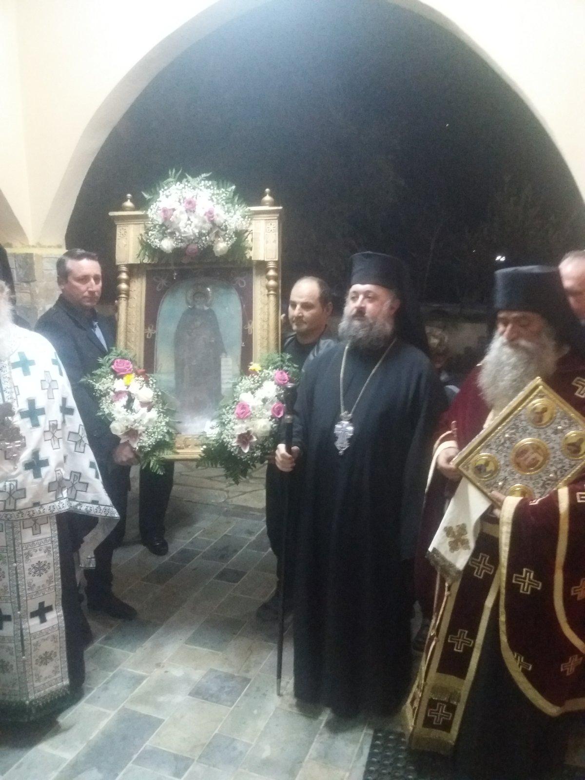 Με μεγαλοπρέπεια ο εσπερινός της εορτής του Αγίου Αντωνίου στην Όσσα