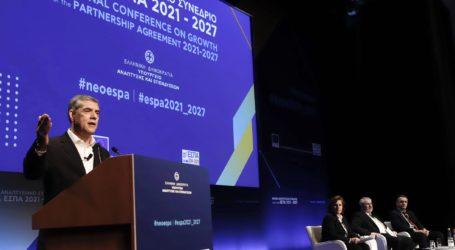 Ο Περιφερειάρχης Θεσσαλίας στο Εθνικό Αναπτυξιακό Συνέδριο για το νέο ΕΣΠΑ