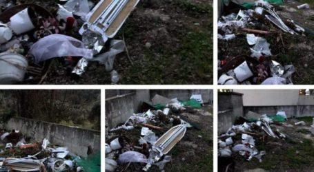 Σε πλήρη εγκατάλειψη το Κοιμητήριο της Τοπικής Κοινότητας Γόννων καταγγέλλει η παράταξη Κολλάτου