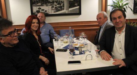 Όμορφη βραδιά στην κοπή πίτας του Εμπορικού Συλλόγου Λάρισας (φωτο – βίντεο)