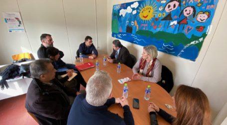 Τα Φάρσαλα επισκέφθηκε ο Γενικός Γραμματέας Κοινωνικής Αλληλεγγύης