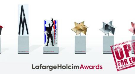 Μέχρι τις 25 Φεβρουαρίου η υποβολή συμμετοχών για τα Διεθνή Βραβεία LafargeHolcim