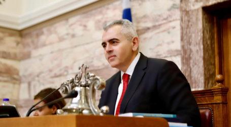 Χαρακόπουλος προς Υπουργείο Υγείας: «Υπάρχει χρονοδιάγραμμα υλοποίησης του Ογκολογικού Κέντρου Λάρισας;»