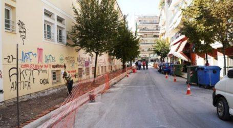 Κυκλοφοριακές ρυθμίσεις στη Χρυσοχόου στη Λάρισα λόγω εργασιών