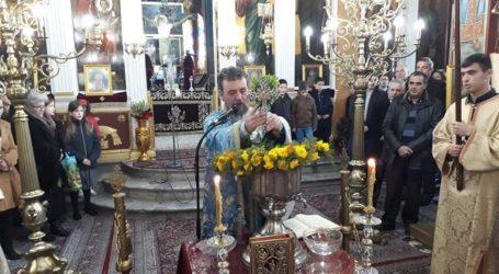 Γιόρτασαν τα Θεοφάνεια στον Αμπελώνα (φωτο)