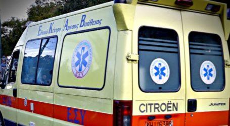 Τροχαίο ατύχημα στον Βόλο – Στο Νοσοκομείο μία γυναίκα
