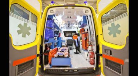 Λάρισα: Πατέρας και κόρη τραυματίστηκαν σε τροχαίο στην οδό Βόλου