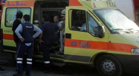 Βόλος: Τροχαίο ατύχημα στην οδό Πολυμέρη – Στο Νοσοκομείο δικυκλιστής