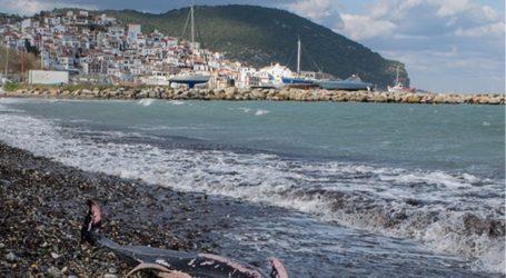 Σκόπελος: Νεκρά δελφίνια και θαλάσσιες χελώνες λόγω των ισχυρών ανέμων [εικόνες]