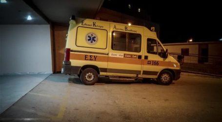 Βόλος: Στο Νοσοκομείο αναίσθητος άνδρας που βρέθηκε σε πάρκο