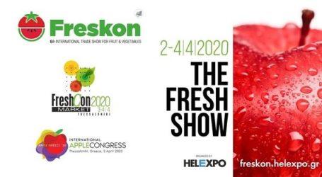 """Στη έκθεση """"FRESKON"""" στη Θεσσαλονίκη θα συμμετάσχει το Επιμελητήριο Λάρισας"""