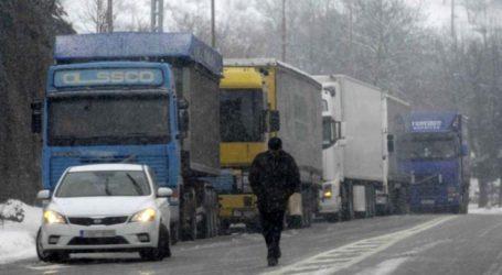 Επιτρέπεται η κυκλοφορία των φορτηγών στην Εθνική Οδό Λάρισας – Αθήνας