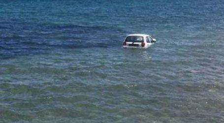 Βόλος: «Βουτιά» αυτοκινήτου στη θάλασσα