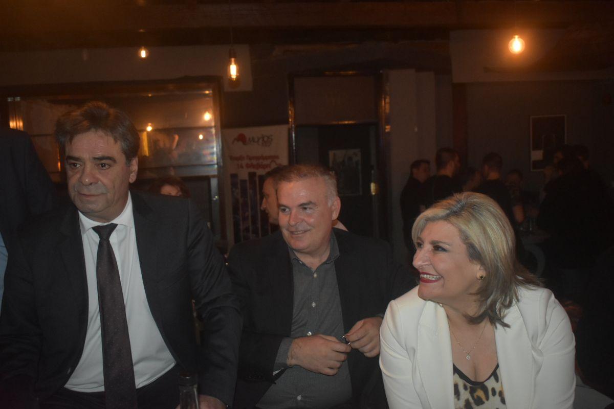 Ευχές για τη νέα χρονιά και κοπή πίτας για τον Γεωπονικό Σύλλογο Λάρισας (φωτο)