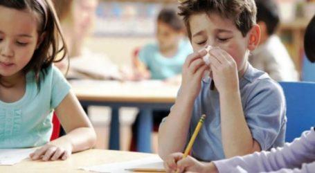 Η γρίπη αδειάζει τις αίθουσες στα σχολεία της Λάρισας