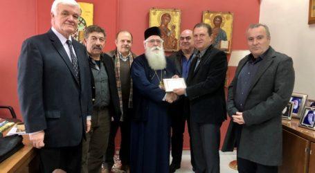 Συνάντηση του Μητροπολίτη Δημητριάδος με τον Σύνδεσμο Αποφοίτων Σχολής Ικάρων