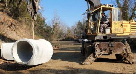 Ξεκίνησαν από την Περιφέρεια Θεσσαλίας οι εργασίες αποκατάστασης του δρόμου Μελιβοίας – Παλιουριάς