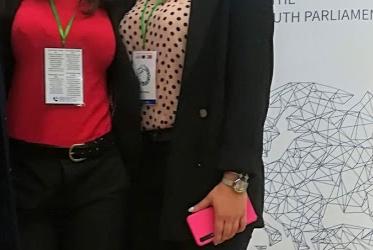 Το 5ο Λύκειο Λάρισας στην 40η Συνδιάσκεψη του Ευρωπαϊκού Κοινοβουλίου Νέων