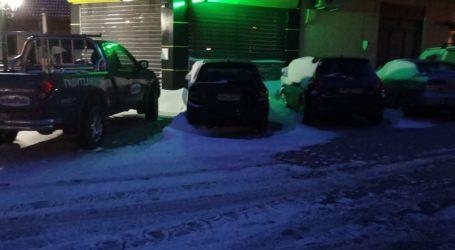 Ελαφριά χιονόστρωση στο Λιβάδι Ελασσόνας και παγωμένα Θεοφάνεια με -5 βαθμούς (φωτο)
