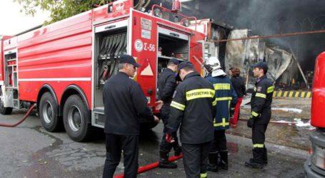 Κάηκε ολοσχερώς το σπίτι στη Λυγαριά Τυρνάβου
