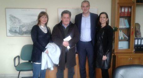 Συνάντηση πραγματοποίησε ο Δήμαρχος Ελασσόνας με την Περιφερειακή Διευθύντρια ΟΑΕΔ Θεσσαλίας
