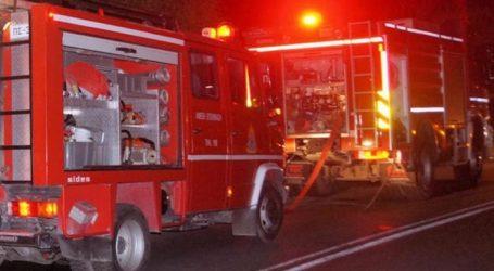 ΤΩΡΑ: Φωτιά σε καμινάδα στις Αλυκές Βόλου