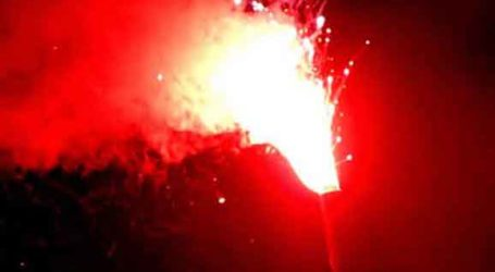 Βόλος: Σάκκο με πυρσούς και καπνογόνα εντοπίστηκαν σε γήπεδο