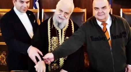 Η Ένωση Λειτουργών Γραφείων Κηδειών Ελλάδος έκοψε την βασιλόπιταστον Βόλο