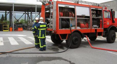 Αλμυρός: Φωτιά σε μικρή χωματερή
