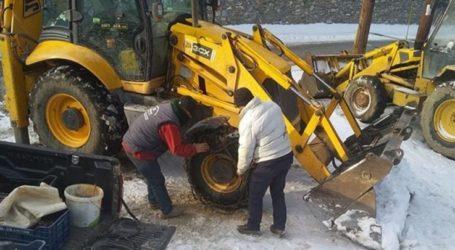Δέκα πόντους χιόνι έριξε στην Σπηλιά Κισσάβου (φωτο)
