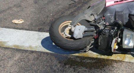 Τροχαίο στη Λάρισα: Δυο μηχανάκια συγκρούστηκαν μεταξύ τους – Στο νοσοκομείο οι οδηγοί