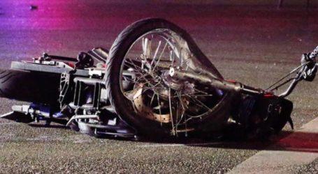 Κοπέλα με μηχανάκι τραυματίστηκε σε τροχαίο στο κέντρο της Λάρισας