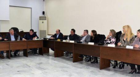 Με τους γιατρούς των ιατρείων του δήμου Κιλελέρ συναντήθηκε ο Θανάσης Νασιακόπουλος